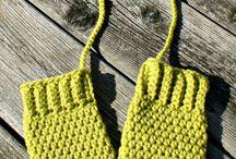 crochet gloves / by Simply Done Crochet