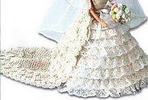 robe au crochet poupéé