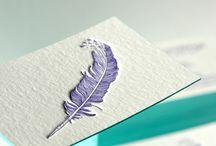 Business cards/leaflet inspiration