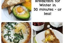 Breakfasts/Brunches* / by Janice Barnes