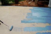 patio paintig