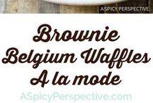 Recipes - pancake, waffle, doughnut