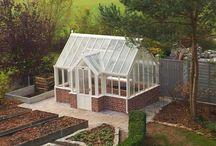 ogród szklarnia