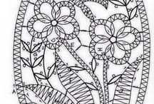 Kantklossen - Bloemen