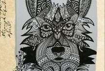 Zentangle en Mandala