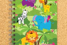 Cute and Fun Stationery and Paper Products / Super cute kid (and adult) friendly stationery, paper products, desks and organizers