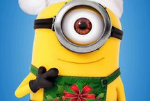 Minions christmas mobile wallpapers / Minions christmas mobile phone wallpapers