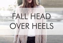 Fall Head Over Heels / Our favorite #fallfashion looks