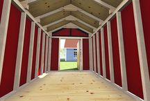 Gable Shed Plans / These are images of Gable Shed Plans that DIY-Plans.com has created and designed.  There are also some pictures of sheds that inspire me to design better gable sheds!