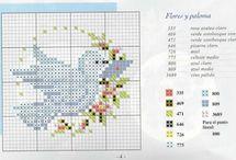 Cross Stitch - Birds
