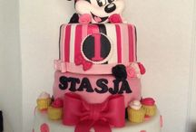 Personages cakes/taart