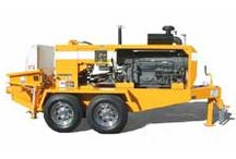 Concrete Trailer Pumps For Sale / We sell concrete trailer pumps, line pumps, shotcrete pumps and grout pumps manufactured by Putzmeister, Schwing, Reed, Olin and Mayco.