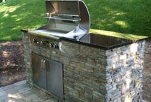 Small outdoor kitchens