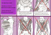 Porteo Seguro / El hecho de portear con un portabebé ergonómico no es sinónimo de respetar la postura fisiológica ni de hacerlo correctamente.