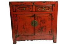 Antique Chinese Furniture / This collection of Chinese antique furniture is 60 to 100 years old and refurbished for today's use in your home.