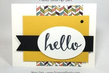 Stampin' Up! ~ Hello