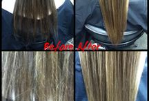 Hair Treatments / Different treatments to improve the health and look of your hair!