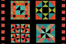 Aiming for Accuracy Quilt-Along / #a4aqal  Come join us: http://quiltinggallery.com/learning-center/aiming-for-accuracy-quilt-along/ / by Michele Foster