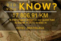 DID YOU KNOW about HOTEL BRATISLAVA? / DId you know series about #HOTELBRATISLAVA ****