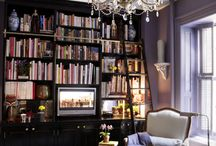 Bookshlves/Library/Office / by Jill DeVillar