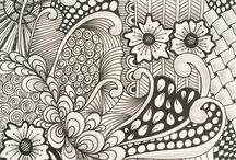 My zentagle patterns