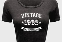 Vintage Year Tshirt / Vintage Years tshirts and hoodies. Cool range of different shirts covering various years of birth. Celebrate the year of your birth in style with these unique designs...  http://www.cooljerseys.org/collections/vintage-year