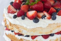 i <3 food - red, white, & blue