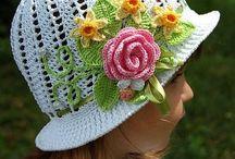 Chapeaux en crochet