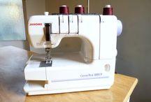 Coverstich machine