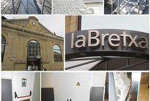 Proyecto en el Centro Comercial La Bretxa de Donostia-San Sebastián. / Trabajos de herrería en el Centro Comercial La Bretxa de Donostia-San Sebastián. Trabajos de seguridad en la azotea y puertas cortafuegos.  #donosti #sansebastián #centrocomercial #labrecha  #labretxa  #partevieja  #herrería