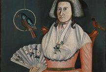 Low necklines in 18th century