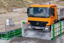 Instalatii de spalare sasiuri si roti / Pentru pastrarea drumurilor curate! http://unilift.ro/moby-dick