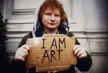 Ed Sheeran, the angel with tattoos