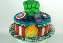 Avengers birthday cake / Julian 4
