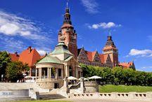 Szczecin / Poland Polen Wały Chrobrego Szczecin Stettin