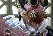 Steampunk/Victorian SF / Steampunk paraphenalia and costumes.