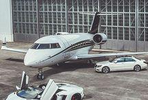 car & plane / car & plane  /  auto & lietadlo