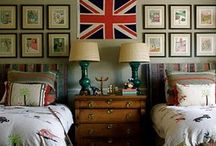British Interiors and the Union Jack / I love the touch of nostalgia that the odd piece of union jack furniture or artwork will introduce, especially if you are far from home.