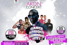 Akon Live At Wembley Arena – Dance Afrique Summerfest 2015
