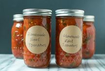canning recipes / by Bitty Sparrow