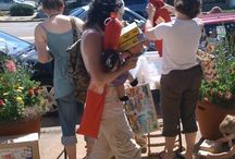 Sidewalk Sale 2009 / by Peapods Natural Toys & Baby Care
