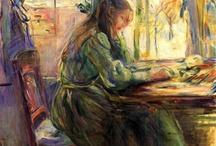 Berthe Morisot / #Morisot #art #painting