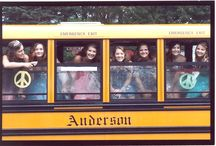 The wheels on the bus... / Anderson began in 1937 with one man and a route to a one-room school house. We are proud to still be transporting hundreds of youngsters daily in our area.
