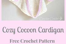 Crochet cocoon shrug