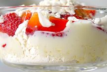 Sobremesas geladas