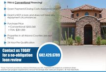 Arizona 0% Down Home Loans Available / You can now buy a home in Arizona with 0% Down.  This program came out in October of 2014.  Call Nicholas McConnell at 480-323-5365 to get started!  WWW.NICHOLASMCCONNELL.COM Your Arizona Real Estate Specialist.  With nearly 20 years of experience in helping people buy and sell homes in Arizona!