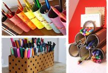 Atelier filles / Pot à crayons