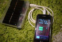 태양광 및 충전기