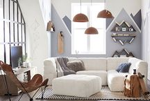 Neutral Ground / From grey to tan to white, this board celebrates the beautiful subtlety of all neutral colors and tones