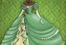 princesas da Disney - Carta